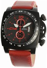 CARBON14 AIR Quartz RED Dial