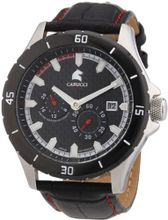 Carucci es Automatic CA2187RD with Leather Strap