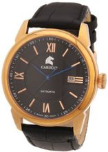 Carucci es Automatic CA2189RG-BK with Leather Strap