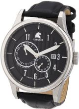 Carucci es Automatic CA2190BK with Leather Strap