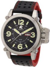 Carucci es Automatic CA2191RD with Leather Strap