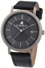 Carucci es Automatic CA2192GR with Leather Strap