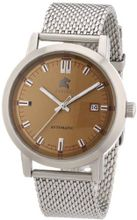 Carucci es Automatic Messina CA2195ST-BR with Leather Strap