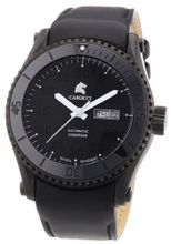 Carucci es Automatic Tarent CA2196BK-BK with Leather Strap