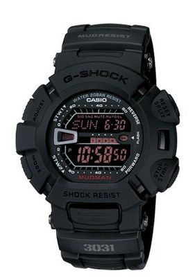 Casio G9000MS-1CR G-Shock Military Concept Black Digital