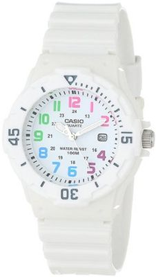 Casio LRW200H-7BVCF Sport White Resin and Plastic