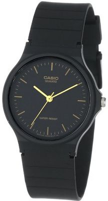 Casio MQ24-1E Black Resin