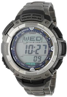 "Casio PAW1100T-7V ""Pathfinder"" Solar Atomic Digital"