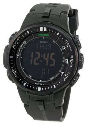 Casio PRW-3000-1ACR Protrek Digital Display Japanese Quartz Black