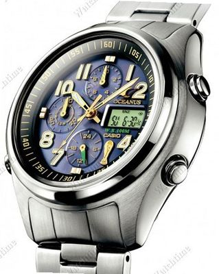 Casio Special models/Others Oceanus WM-Solar-Radio controlled