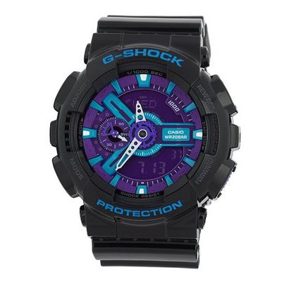 G-SHOCK The GA 110 Hypercolor in Black,es for Unisex