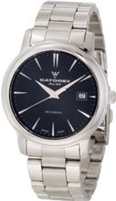 Catorex 113.1.8167.450/BM Attractive Mechanical Stainless Steel Black Dial