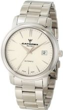 Catorex 119.1.8170.350/BM Attractive Automatic Stainless Steel Silver Dial