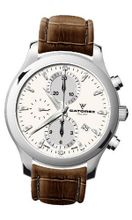 Catorex 138.1.8169.150 ChronoTradition Automatic Chronograph Brown Crocodile Patterned