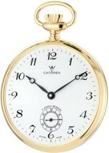 Catorex 170.6.1810.120 Les Breuleux 18k Gold Plated Brass White Dial Pocket
