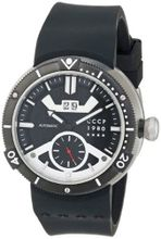 CCCP CP-7006-01 Kashalot Analog Display Automatic Self Wind Black