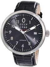 CCCP CP-7008-01 Kashalot Analog Display Automatic Self Wind Black