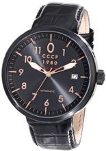 CCCP CP-7008-03 Kashalot Analog Display Automatic Self Wind Black