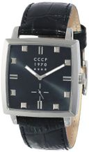 CCCP CP-7009-04 St. Petersburg Analog Display Japanese Quartz Black