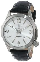 CCCP CP-7010-01 Shchuka Analog Display Swiss Quartz Black