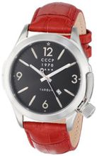 CCCP CP-7010-02 Shchuka Analog Display Swiss Quartz Red