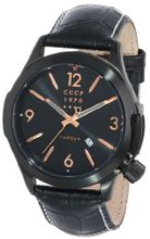 CCCP CP-7010-04 Shchuka Analog Display Swiss Quartz Black