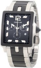 Cerruti 1881 CRB003E221G Odissea Sportiva Black Textured Dial Two Tone Stainless Steel