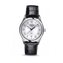 Certina C0224101603000 38 Stainless Steel Case Black Leather Anti-Reflective Sapphire