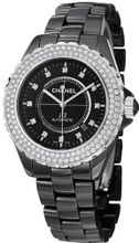 Chanel J12 Black Diamond Dial and Bezel H2014