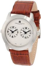 Charles-Hubert, Paris 3520-A Premium Collection Stainless Steel Dual-Time