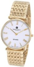 Charles-Hubert, Paris 3798 Premium Collection Gold-Plated Stainless Steel