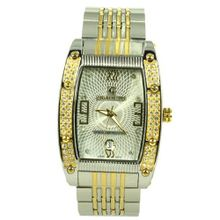 Charlie Jill in Silver Gold 2tone Dial and Stainless Steel Bracelet