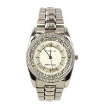 Charlie Jill WAT0512MSVRSVR Elegant  in Silver Dial Enchanted with Stunning Crystal Stainless Steel Bracelet