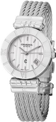 Charriol Alexandre C Ladies Silver Face Stainless Steel ACSS.51.804