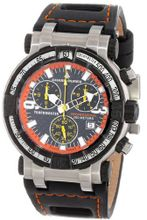 Chase-Durer 224.2BO-LEA Trackmaster Pro Chronograph 2nd Edition Orange-Stitched Leather