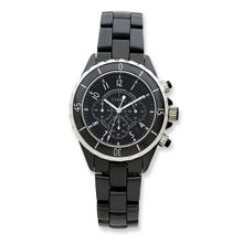 Chisel Black Ceramic and Dial Chronograph