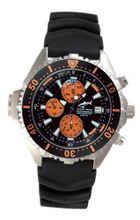 Chris Benz Depthmeter Chronograph CB-C-ORANGE-KB Depth Gauge