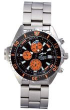 Chris Benz Depthmeter Chronograph CB-C-ORANGE-MB Depth Gauge