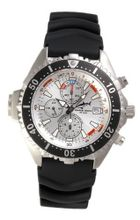 Chris Benz Depthmeter Chronograph CB-C-SILVER-KB Depth Gauge