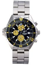 Chris Benz Depthmeter Chronograph CB-C-YELLOW-MB Depth Gauge