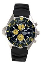 Chris Benz Depthmeter Chronograph CB-C-YELLOWBLACK-KB Depth Gauge