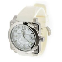 Christian Audigier Fortress Silver Dollar FOR-216 Silver Dial