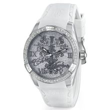 Christian Audigier INT-312 White Dial
