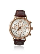 Christian Van Sant CV1126 Rose Gold Tone Stainless Steel Case Leathe