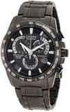 "Citizen AT4007-54E ""Perpetual Chrono A-T"" Black Stainless Steel"