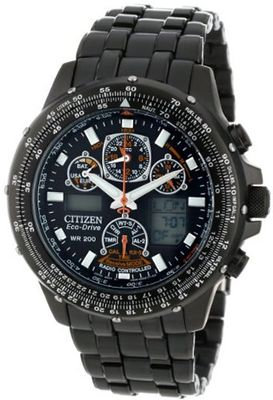 "Citizen JY0005-50E ""Eco-Drive Skyhawk A-T"" Stainless Steel"