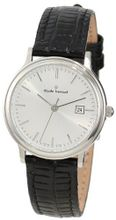 Claude Bernard 31211 3 AIN Classic Ladies Silver Dial Leather Date
