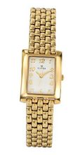 Clyda CLV0007PAAX Analog Quartz Fashion with Cream Dial and Plated Bracelet