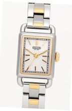 Coach 14501283 Hamptons Elongated Two Tone Stainless Steel Bracelet