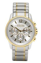 Coach - Ladies Two Tone Stainless Steel Chronograph - 14501507